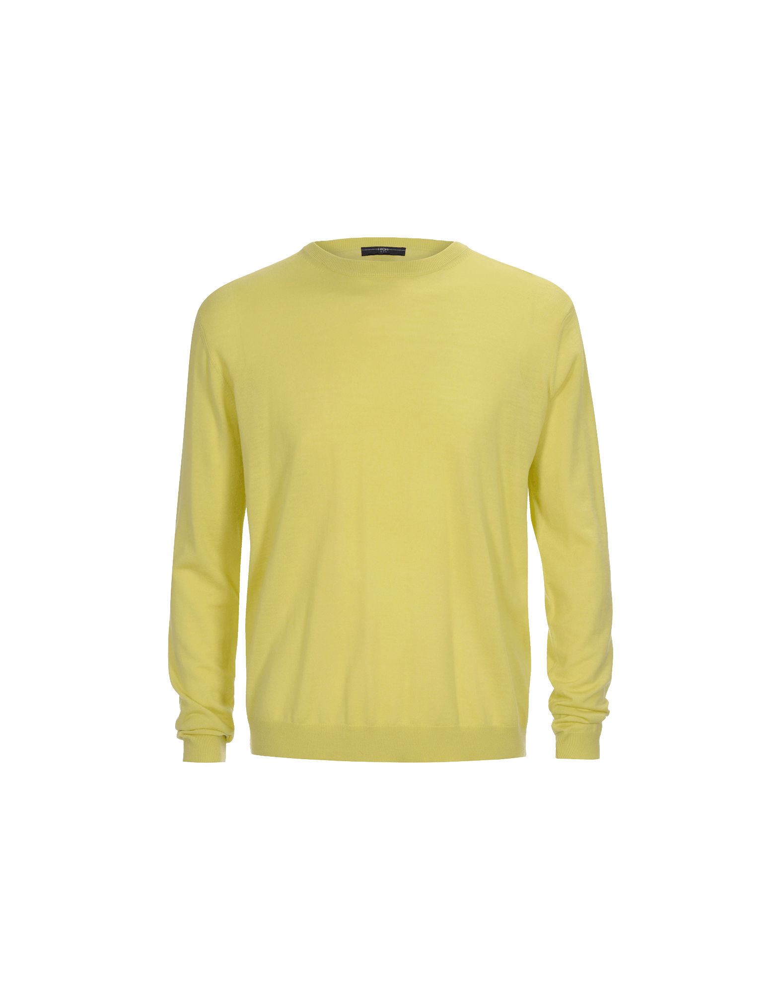 OBSERVE: Ultra light wool chartreuse green sweater