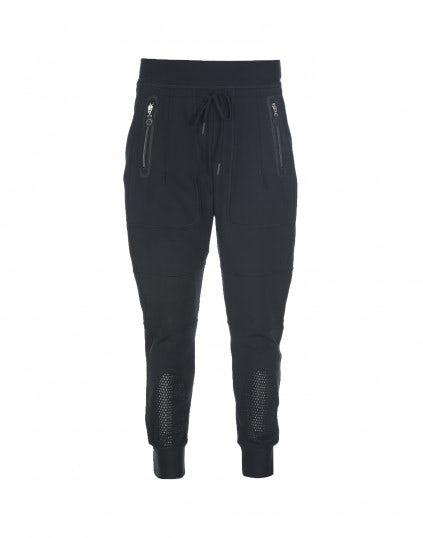 JACOB: Pantaloni sportivi blu navy con zip