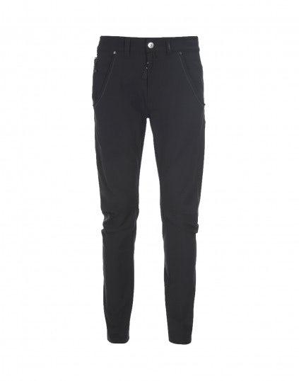ERIK: Pantaloni blu navy con cuciture