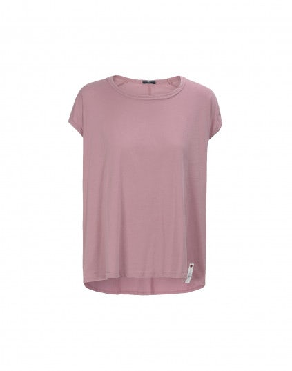 SLY: T-shirt in cotone rosa