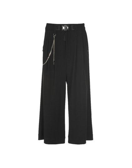 GIULIA: Pantaloni ampi, neri
