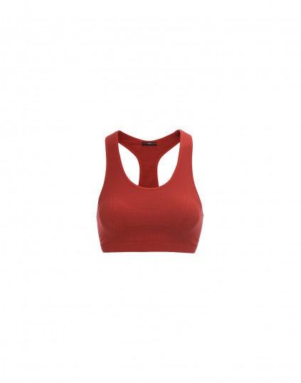PUSH: Top-reggiseno active, rosso