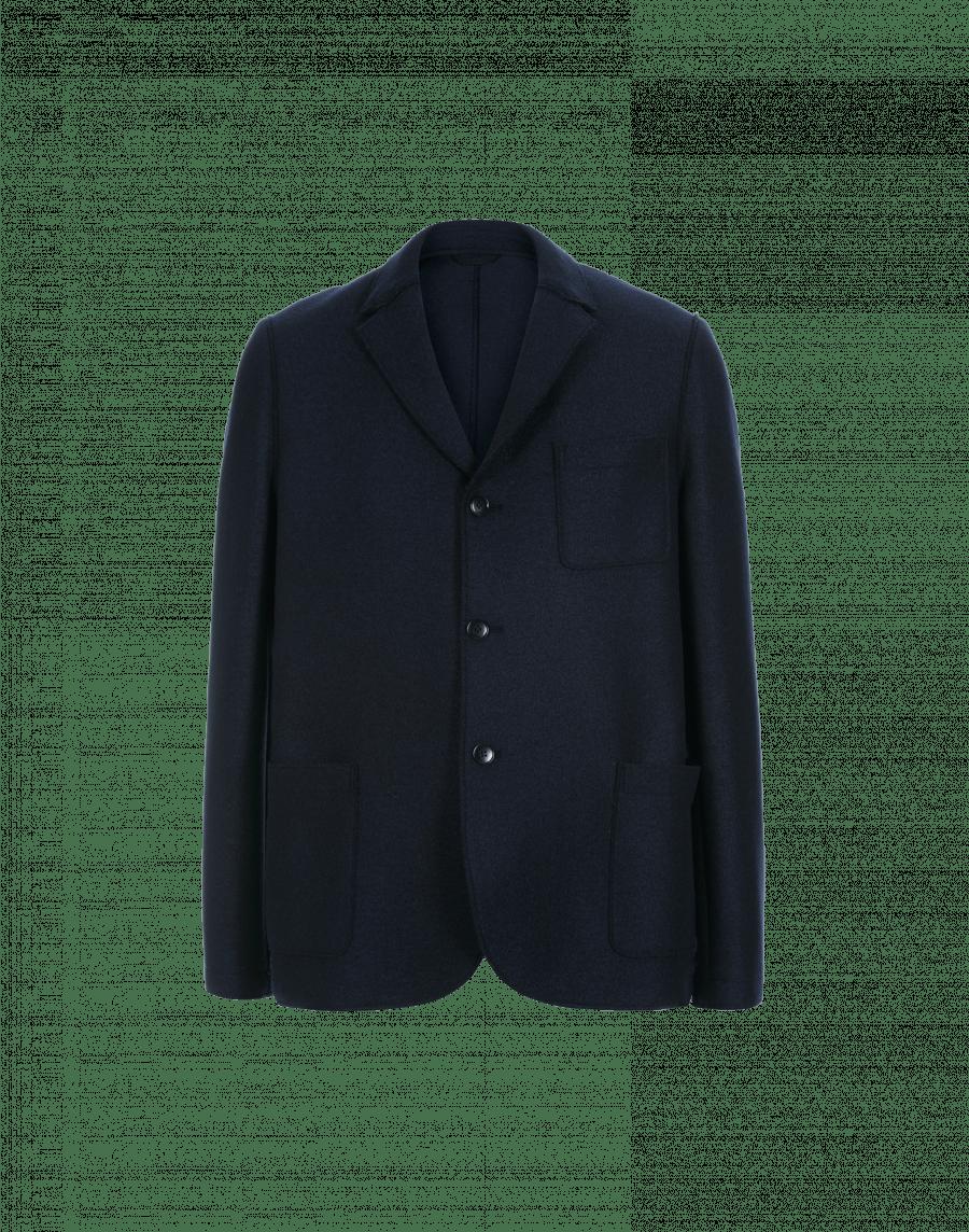 design innovativo 96a23 56255 COMMIT: Giacca blu navy in lana cotta