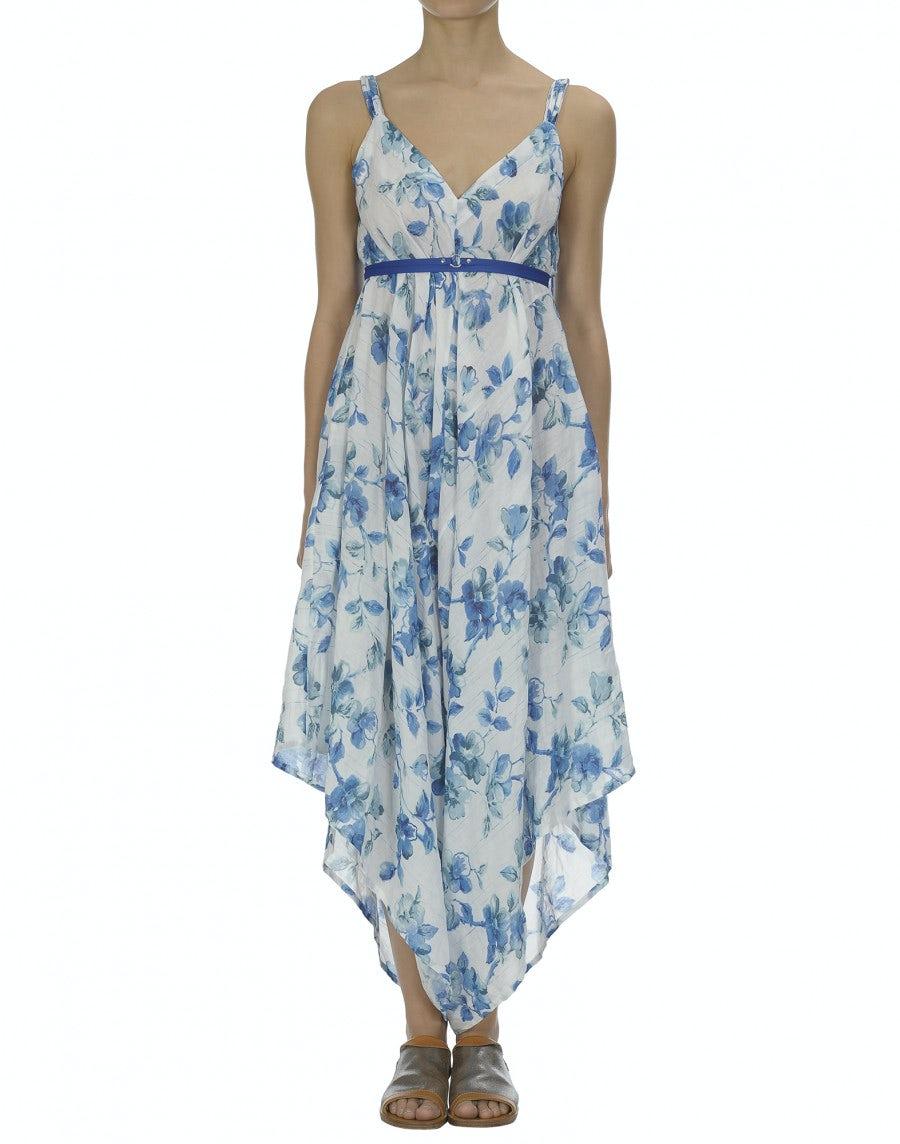 AUBADE: Delft blue flower jumpsuit