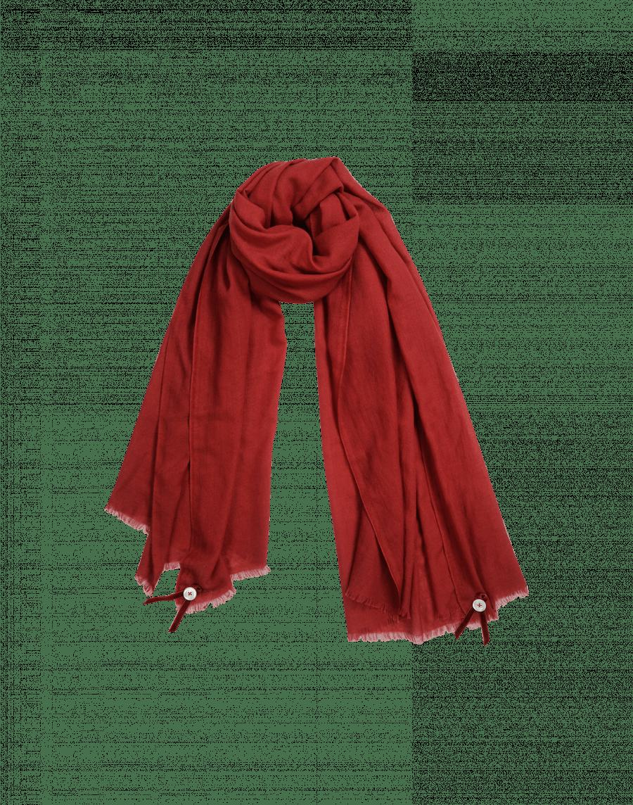 New York 87236 04c0a BLIZZARD: Sciarpa rossa in lana misto seta