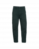 "AMBLE: Worker"" pants in green cotton twill"