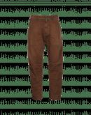 AMBLE: Pantaloni in twill marroni