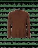PUSHOVER: Maglioncino in cashmere marrone