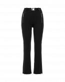 RARING: Twisted seam pants in black