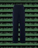 EMPHATIC: Pantaloni ampi in jersey compatto blu