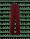 EMPHATIC: Pantaloni ampi in jersey compatto rosso mattone