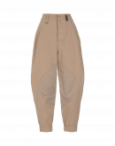 QUIZZICAL: High waisted pants in buff colour twill