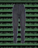 IN MOTION: Pantaloni affusolati con gessatura blu