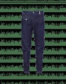 IN-MOTION: Schmale, marineblaue Jeans