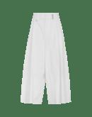 WANDERLUST: Pantaloni ampi bianchi