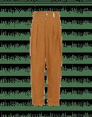 REALIST: Pantalone quadrettato marrone