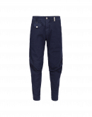 IN-MOTION: Tapered pant with asymmetric waistband