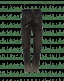 "TRICKER: Khaki ""leather effect"" treatment pants"