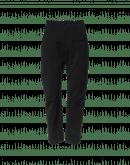 HYPER: Black gabardine pant with hip panel