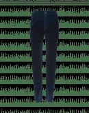 """ABRUPT: Jeans in velluto blu con trattamento """"airbrush"""""""