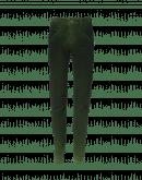 """ABRUPT: Wrinkle"""" leg jeans in airbrush velvet"""