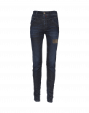 "ABRUPT: Wrinkle"" leg jeans"