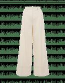 UPSTART: Pantaloni a palazzo in misto canapa