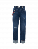 RASCAL: Dunkelblaue Jeans mit Farbverlauf