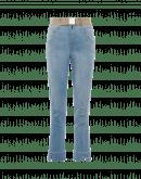 AT-PACE: Hellblaue Jeans mit Pences am Knie