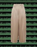 SLEEK: Breite Hose aus taubengrauer Baumwolle