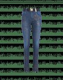 VAULT: Jeans blu con stampa dorata