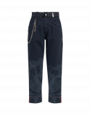 "RASCAL: Jeans a gamba larga in denim con effetto ""tie-dye"""