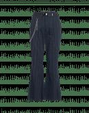 LEADER: Pantaloni gessati a campana blu navy