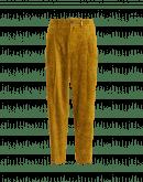 CONVINCE: Pantaloni in velluto con motivo floreale laser
