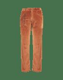 IMPROMPTU: Pantaloni in velluto a coste marrone