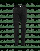 "ADAPT: Pantaloni ""patchwork"" in cotone nero"