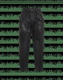 COURAGEOUS: Pantaloni in stile cargo con trattamento effetto pelle