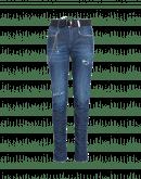 NEW FLICKER: Jeans aderenti con arricciatura sul fondo