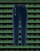 GAMBIT: Pantaloni alla caviglia in velluto blu