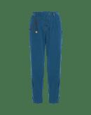 WANDERING: Pantaloni ampi in fustagno petrolio