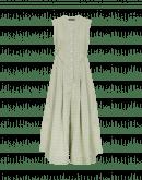 ABOUT-TURN: Tuta smanicata in doppio tessuto e diversa quadrettatura