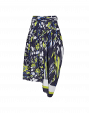 JAUNTY: Skirt-pant in cotton and polyester mix