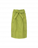 PLAY-ACT: Hi-waist multi-pocket skirt