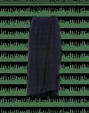 MEANDER: Umhüllender Jerseyrock mit Karomuster