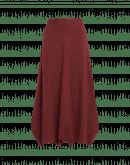 CHORAL: Gonna- pantalone ampia in jersey color mattone