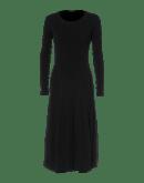 ALL WAYS: Abito in jersey di lana nero