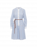 "CAROUSEL: Shirtwaist dress with ""apron"" detail"