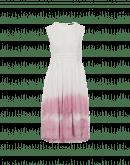 COQUETTE: Abito con sfumatura tie-dye rosa