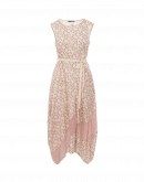 HAPPINESS: Sleeveless dress in mix of pink floral