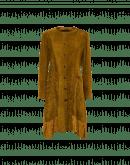 BREATHTAKING: Abito a tunica in velluto e cupro